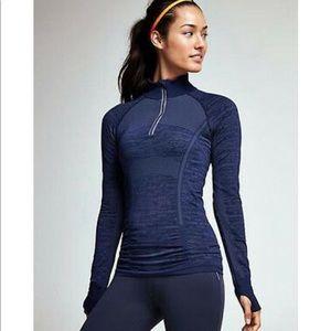 Athleta Fast Track Half Zip LS Pullover.